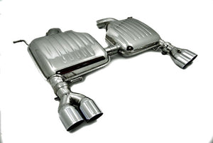 BMW Eisenmann Exhaust - 335I/Xi (E92/E93) - 4X76mm Round Tips
