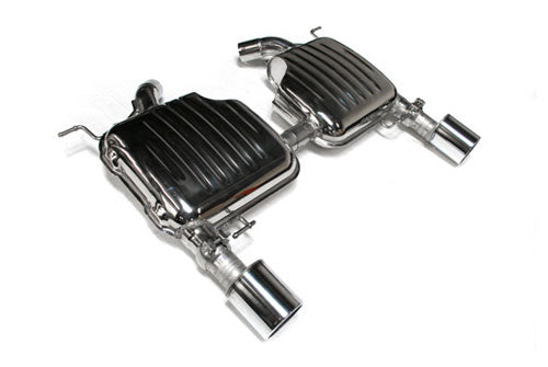 BMW Eisenmann Exhaust - 335I/Xi (E92/E93) - 2X102mm Round Tips (One Tip Per Side)