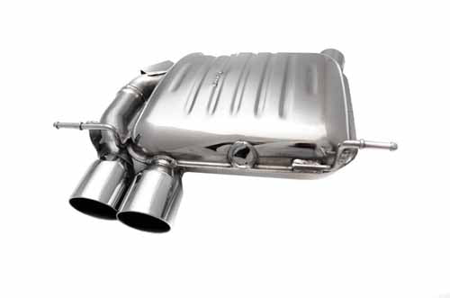 BMW Eisenmann Exhaust - 135i (E82 E88) - 2X76mm Round Tips