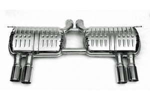 BMW Eisenmann Exhaust - X6M (E71) - 4 x 83mm LeMans Tips