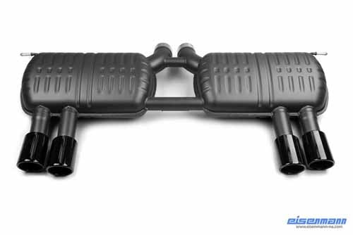 BMW Eisenmann Exhaust - X6M (E71) - 4 x 90mm Black Series Round Tips