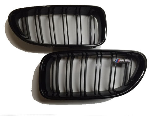 Genuine BMW F06/F12/F13 M6 M Performance Gloss Black Grilles (Pair)