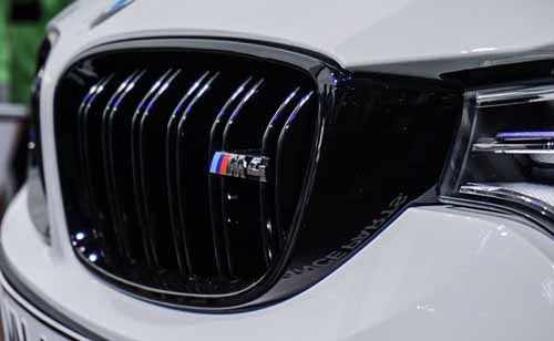 Genuine BMW F80 M3 & F82 M4 M Performance Gloss Black Grilles (Pair)
