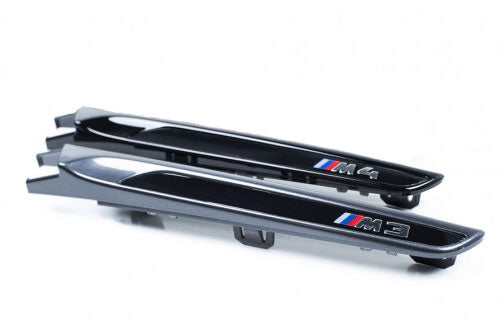 Genuine BMW F80 M3 & F82 M4 M Performance Gloss Black Side Grilles (Pair)
