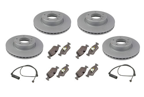 E39 530I (2001-2003) And 540I (March 2000 - 2003) Front & Rear Brake Package