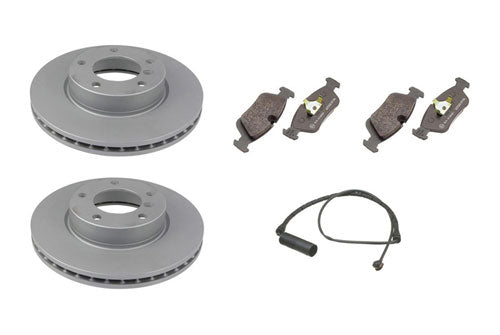 For BMW 530i 540i E39 Front And Rear Premium Brake Rotors And 8 Metallic Pads