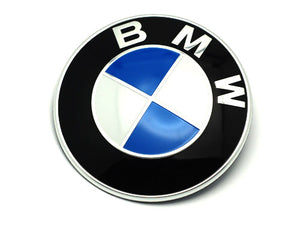 BMW Trunk Emblem - Genuine BMW (7 Series E32 88-94)
