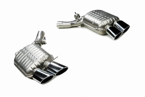 BMW Eisenmann Exhaust - M5 (F10) - 4 x120 x 77mm Oval Tips