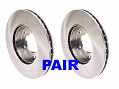 BMW E36 M3 Rear Zimmerman Rotors (PAIR)