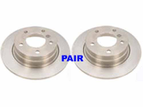 BMW E36 Rear Zimmerman Rotors (PAIR) (Excludes Convertibles & M3)