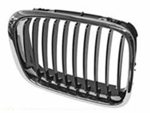Genuine BMW E46 Sedan 3 Series Grill w/ Black Inserts 99-8/01