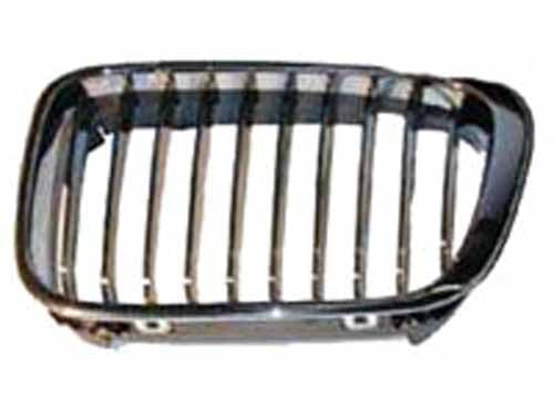 Genuine BMW E46 Coupe 3 Series Grill w/ Chrome Inserts (325ci & 330ci 3/2003-2006)