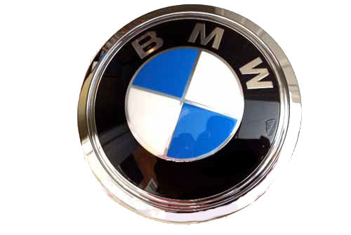 BMW Trunk Emblem - Genuine BMW (7 Series E66 750i/iL 06-08)