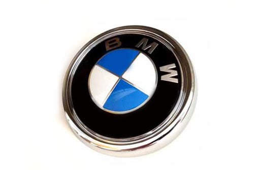 BMW Trunk Emblem - Genuine BMW (X5 E70 07-13)