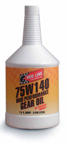 Red Line 75W140 Gear Oil - 1 Qt