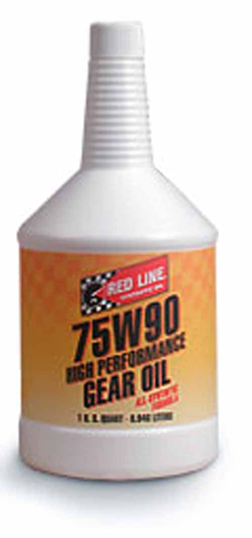 Red Line 75W90 Gear Oil - 1 Qt