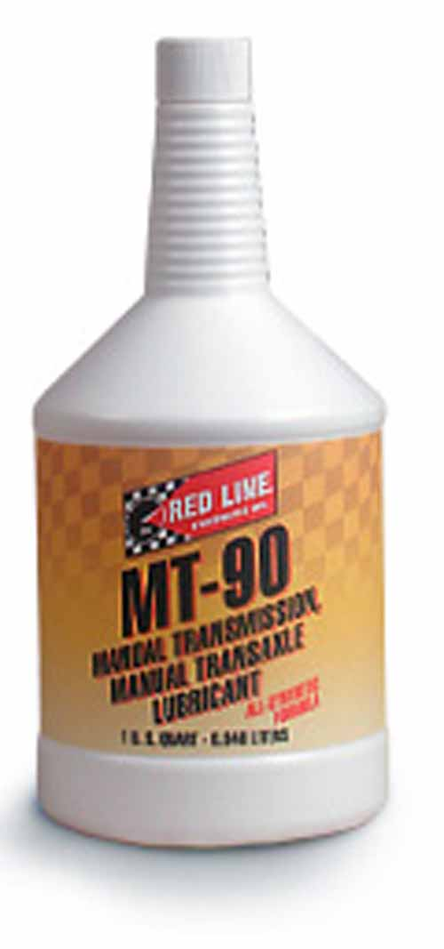 Red Line MT-90 Manual Transmission Fluid 75W90 - 1 Qt