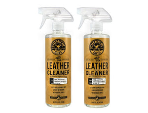 Chemical Guys Leather Cleaner - Colorless & Odorless Super Cleaner (16 oz Twin Pack)