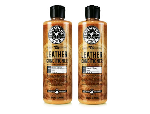 Chemical Guys Leather Conditioner (16 oz Twin Pack)