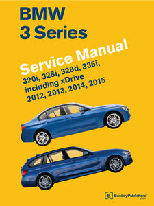BMW 3 Series F30 Service Repair Manual 2012-2015 (Bentley) - Hardcover