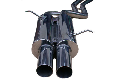 Rogue Engineering DMS Exhaust for the BMW 325i and 330i (e46)