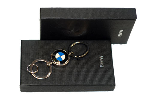 Genuine BMW Roundel Valet Key Ring