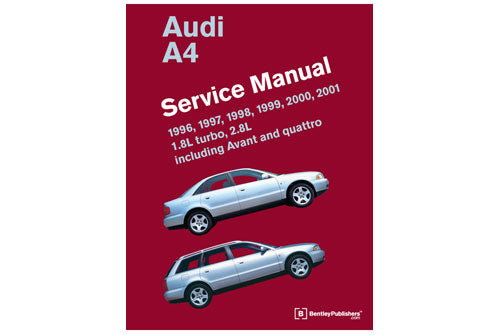 Audi A4 Service Repair Manual 1996-2001 (Bentley) - Hardcover