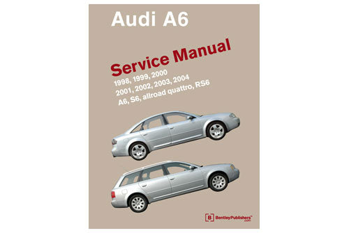 Audi A6 Service Repair Manual 1998-2004 (Bentley) - Hardcover