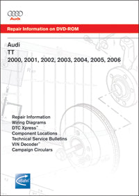 audi tt wiring diagram audi tt  a3  00 06 service repair manual dvd  att6      bimmerzone  00 06 service repair manual dvd  att6