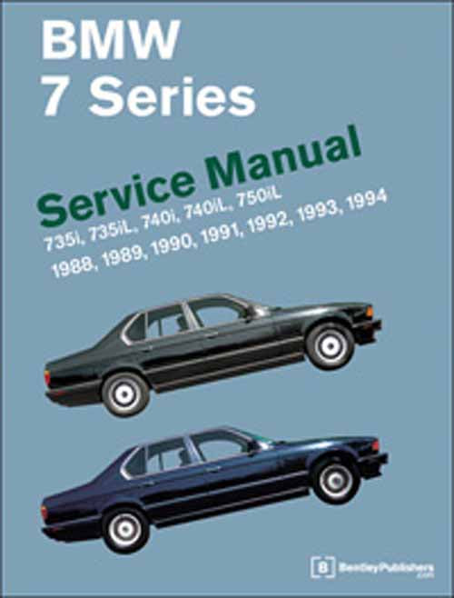BMW 7 Series E32 Service Repair Manual 1988-1994 (Bentley) - Hardcover