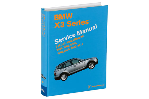 BMW X3 E83 Service Repair Manual 2004-2010 (Bentley) - Hardcover