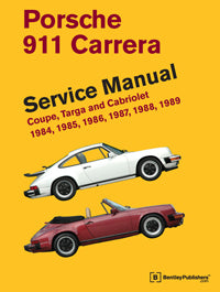 Porsche 911 Carrera Service Repair Manual 1984-1989 (Bentley) - Hardcover
