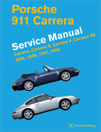 Porsche 911 Carrera Service Repair Manual 1995-1998 (Bentley) - Hardcover
