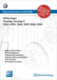 Volkswagen VW Toureg 04-09 Service Repair Manual DVD (V7L5)