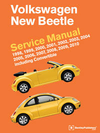 Volkswagen New Beetle Service Repair Manual 1998-2010 (Hardcover)