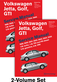 Volkswagen Golf, Jetta, Gti Service Repair Manual 1999-2005 (Hardcover)