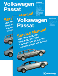Volkswagen Passat Service Repair Manual 1998-2005 (Hardcover)