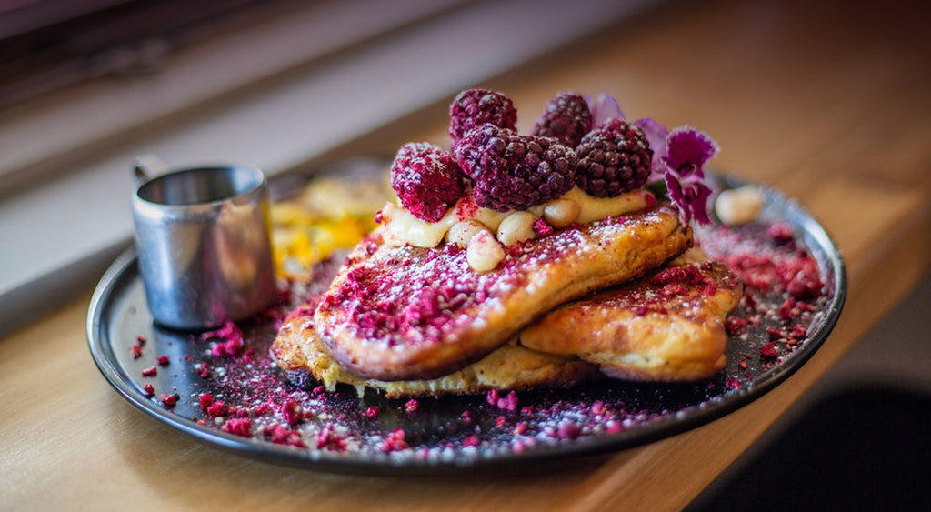 delicious Boysenberry pancake