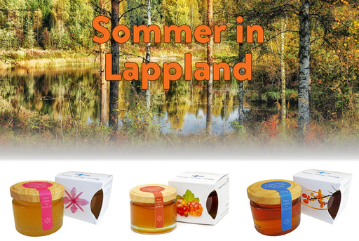"3er Set ""Sommer in Lappland"" - hanse-honig.shop"