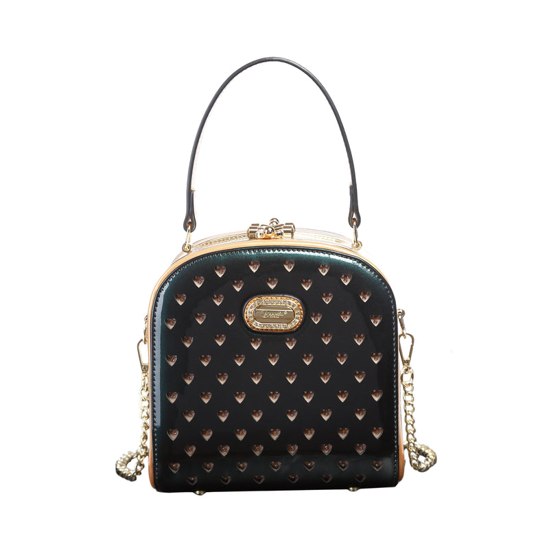Starz Art Retro Cubico Stains & Damage Resistant Womens Crossbody Clutch - Brangio Italy Collections