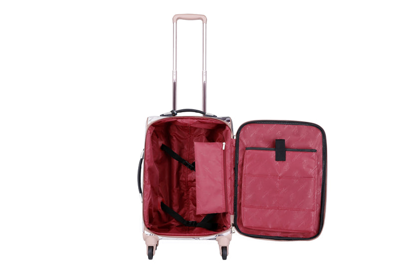 Dreamerz Carry-on Luggage Suitcase Travel bag with Wheels - Brangio Italy Collections