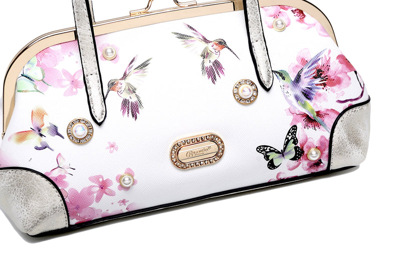 Hummingbird Mini Clutch Scratch & Stain Resistant Evening Bag - Brangio Italy Collections