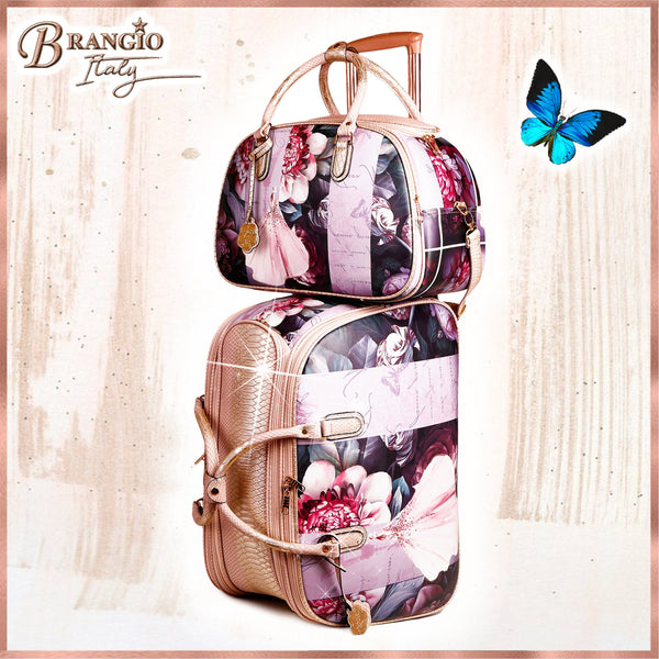 Blossomz Duffle Bag + Overnight Bag for Women - Brangio Italy Collections