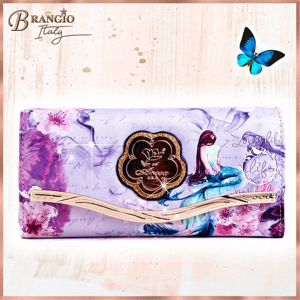 Princess Mera Phone Bag and Wallet - Brangio Italy Collections