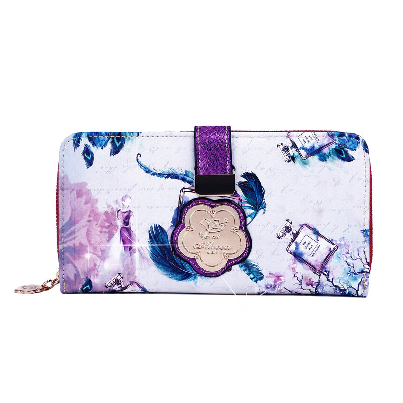 Arosa Fragrance Retro Wallet for Women with Multiple Card Holders - Brangio Italy Collections