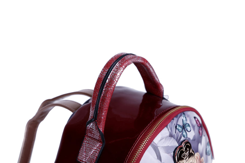 Dreamerz Crystal Laced Scratch & Stain Resistant Womens Backpack - Brangio Italy Collections
