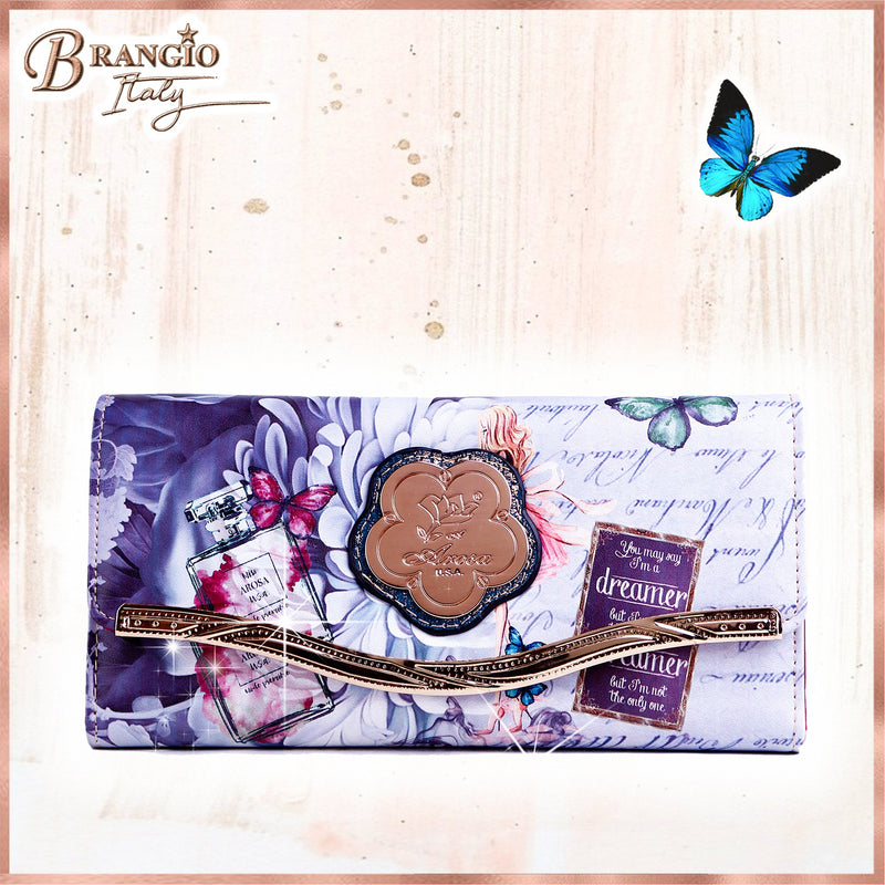 Dreamerz Multiple Pocket Womans Wallet - Brangio Italy Collections