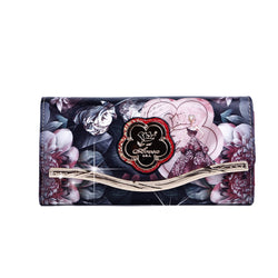 Queen Clutch Women Luxury Wallet Cell Phone Clutch - Brangio Italy Collections