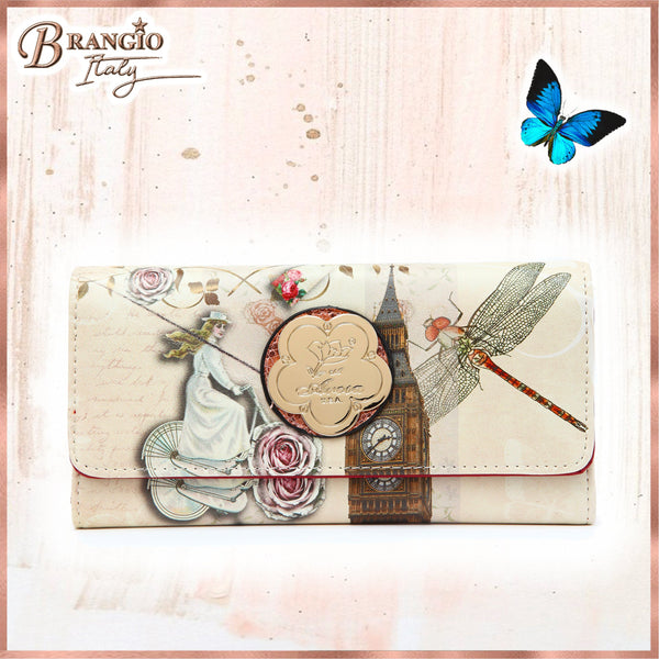 Lady Dream Multiple Pocket Women's Wallet - Brangio Italy Collections