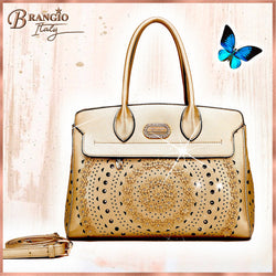 Rosè Celestial Star Handmade Women's Handbag - Brangio Italy Collections